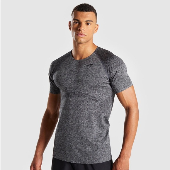 2d6cb68f3d17 Gymshark Shirts | Mens Small Shadow Seamless Shirt | Poshmark